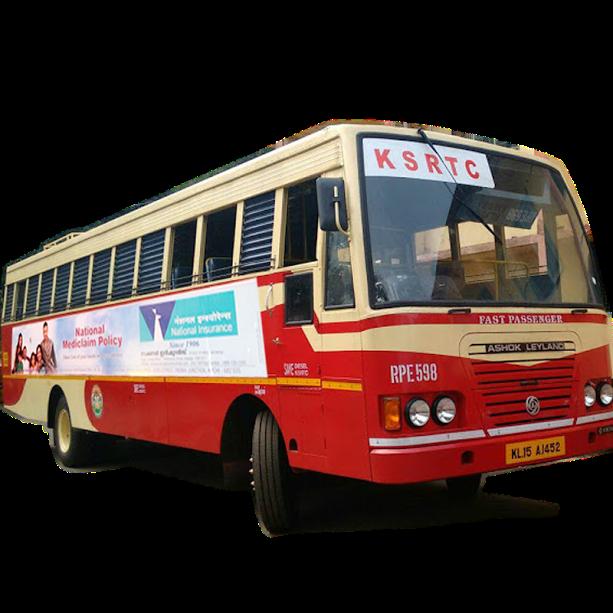 Adonwheels Ksrtc Bus Panel Advertising All Over Kerala